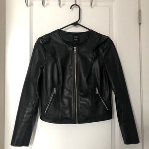 Faux Leather Jacket from Zara